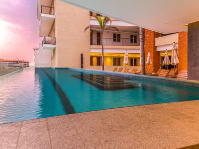 Photo for Modern Condo in the Romantic Zone 2 Pools