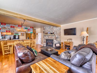 Photo for Spacious, family-friendly home w/ large patio, gas grill and views of Mt Crested