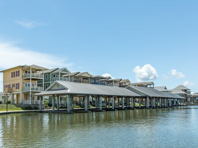 Photo for Bayfront home w/ views, a dock & balconies - ideal for fishing!