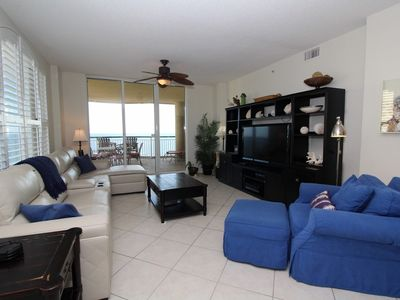 Photo for Beach Colony East 10A-Beach Front unit with large terrace & amazing view!