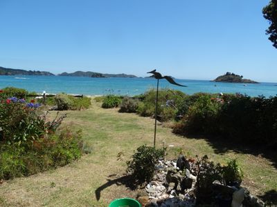 Photo for Absolute Beach Frontage - Te Ngaere Bay