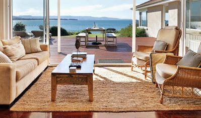 Spectacular view from all living areas and main bedroom-direct beach access