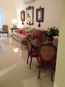 Photo for Apt 4 bedrooms, 120m2, near Copacabana beach and metro, all refrigerated