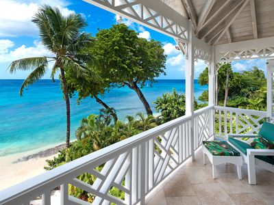 Photo for Beachfront Bliss with Plunge Pool - Seashells