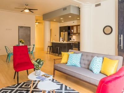 Photo for Stylish Cultural District 2BR Apt