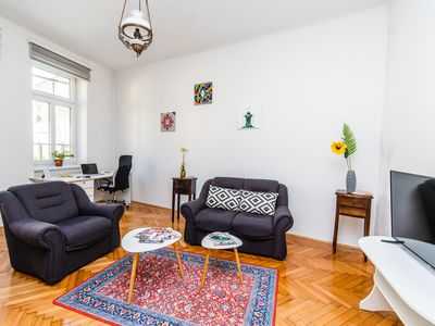 Photo for Bright and Sunny Apartment in The City CENTER!