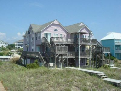 Photo for JUNE 1-8 AVAILABLE 7 BR 4 BATH BEACH FRONT JUST REMODELED!   POOL 150' AWAY