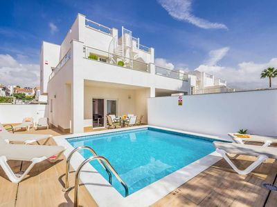 Photo for Villa Valeria - This modern Villa includes a private pool, WIFI & A/C, sleeps 6