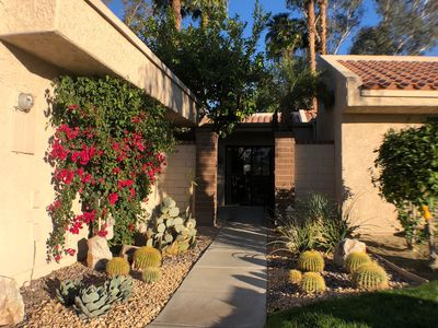 Photo for Palm Springs Hideaway with Golf Course & Mountain Views