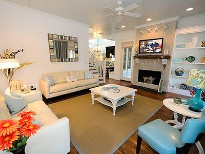 Photo for Sleeps 13+ with Carriage House and Tower Room: Water Color