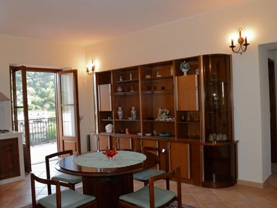 Photo for Independent apartment in an old building in the Cilento National Park