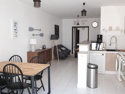 Photo for Appart T3 very center of Chatelaillon, 20 m from the sea, between Casino and market