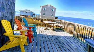Photo for Cozy Cottage Waterfront on Point. Great views, Kayak, Windsurf, Kiteboard, Fun!