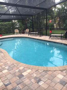 Photo for Pool Home located just steps from Vanderbilt Beach