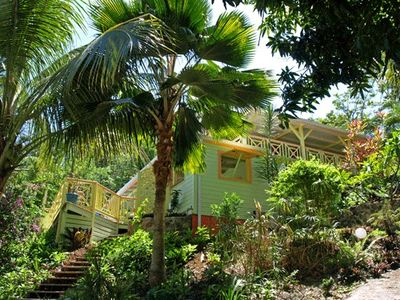 Photo for Green House, a villa rental in Deshaies Guadeloupe