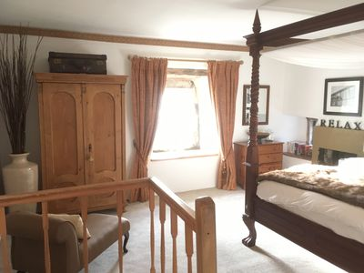 Photo for Tweedle Dee Cottage with Woodburner, big four Poster bed, wifi & luxury bathroom