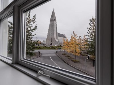 Photo for Luxury apartment right in front of Hallgrimskirkja