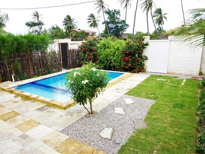 Photo for House blue high standard with Wifi in Aguas Belas Caponga
