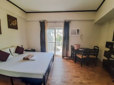 Photo for ANIA GUEST ROOM with balcony near Mactan Airport.
