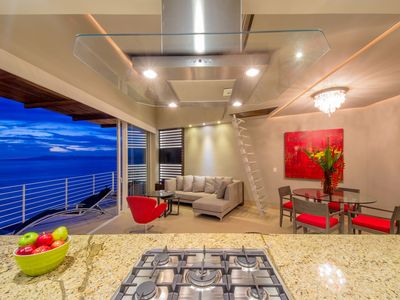 Photo for Penthouse in Amapas 353 1br 2ba With Loft, Rooftop Pool, at Los Muertos Bch