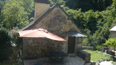 Photo for Small Gite-House on property of 5 ha, swimming pool, sauna, gym, horses, donkey