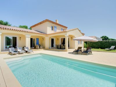 Photo for Luxurious Holiday Home in Le Plan-de-la-Tour with Pool