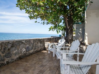 Photo for 4 Bedroom Beachfront Villa in Rincon at Sunset Paradise