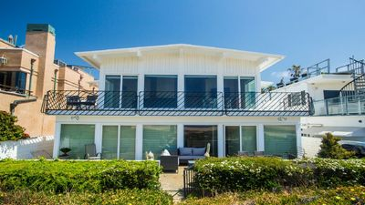 Photo for Spacious Ocean View Vacation Home on the Beach