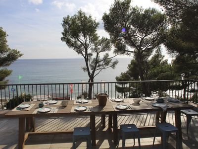 Photo for villa for 10 persons heated pool 5 bedrooms Beach Gigaro