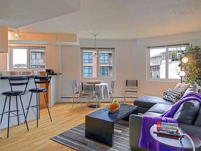 Photo for The Elektra Hillside Flat in the Heart of the City, Steps to the Convention Center!