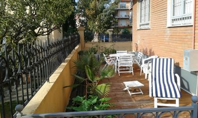 Photo for comfortable and central three-room apartment 100 meters from the sea