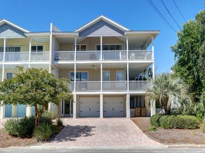 Photo for Ocean views with two huge double covered porches to enjoy the breeze!