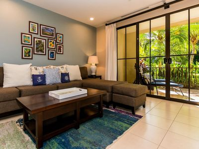 Photo for Stylish,1-bedroom that opens on pool,Pacifico L303