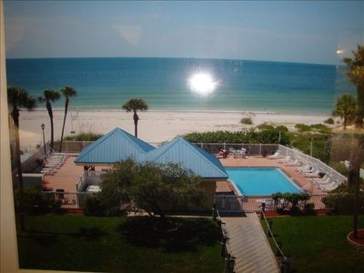 Photo for Ready for a Vacation!  Sleepy Sea Turtle 2 BR/2BA Beachfront Condo for Rent!!