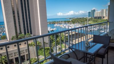 Photo for OCEAN VIEW IN WAIKIKI 3 BEDROOMS, 3 BATH