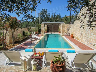 Photo for Aphrodite - Apokoron Luxury Villa - Private Pool - Sleeps 7