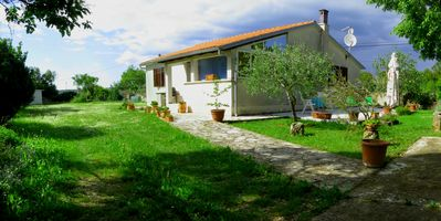 Photo for Holiday house with big garden in village Rakalj