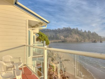 Photo for Panoramic Views From this Bay Front Condo, Steps to Dining and Shopping!