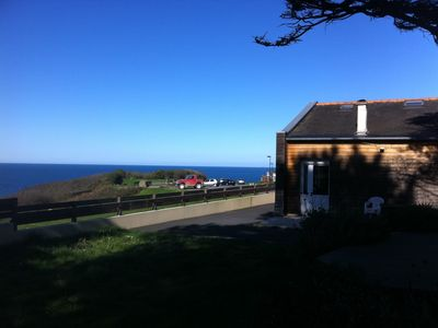 Photo for House banded wood: 180 ° sea view