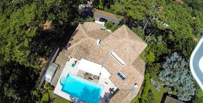 Photo for Hossegor 200m ocean and lake villa heated pool ideally situated architect