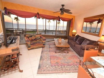Photo for Luxury 5* 2BR/2BA 2nd Floor Beach Front Condo Snonran Spa