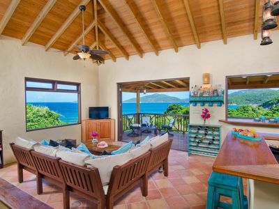 Photo for Surfside Gardens - spectacular ocean views, steps away from the surf