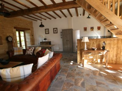 Photo for Oak Barn Luxury Self Catering Property with pool, ideal for families and couples