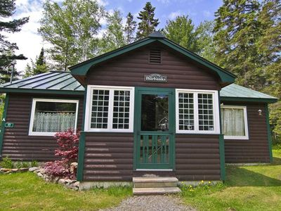 Photo for Nicely kept 2 bedroom cottage minutes from Rangeley Lake