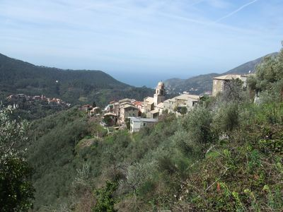 Photo for A holiday home between Levanto and Cinque Terre.