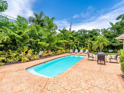 Photo for Casa Casino 7/6 For 19 Guests Huge Pool & Yard Near Beaches Shopping
