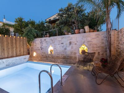 Photo for In the old historical town of Rethymno,Amaryllis Luxury Home with a private pool