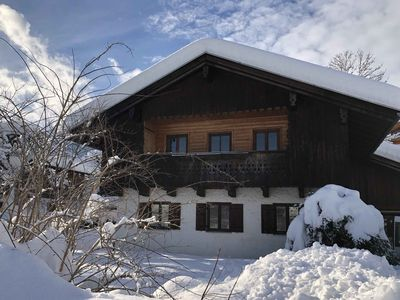 Photo for NEW- dreamlike apartment with mountain views, newly renovated