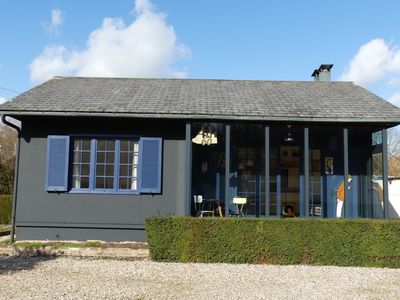 Photo for ARCHI 60 Le Gite on the village square, 3 km from the beach of St. Aubin / Mer
