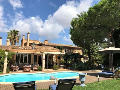 Photo for Holiday house Cala Mondrago for 11 persons with 6 bedrooms - Farmhouse